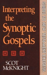 Interpreting the Synoptic Gospels (Guides to New Testament Exegesis Book #) - eBook