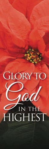 Glory to God Banner (2' x 6')