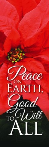 Peace on Earth Banner (2' x 6')