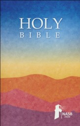 NASB 2020 Outreach Bible