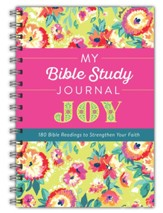 My Bible Study Journal: Joy: 180 Bible Readings to Strengthen Your Faith
