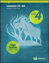 Answers Bible Curriculum High School Unit 4 Teacher Guide (2nd Edition)