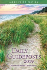 2019 Daily Guideposts, Large Print