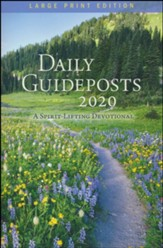 2020 Daily Guideposts, Large-Print