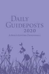 2020 Daily Guideposts, Leather Edition