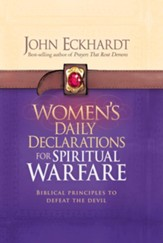 Women's Daily Declarations for Spiritual Warfare: Biblical principles to defeat the devil - eBook