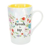 Friends for Life Latte Mug