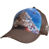 Mountains Cap, Brown, Distressed