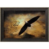 Those Who Hope in the Lord Will Renew Their Strength, Eagle, Framed Art