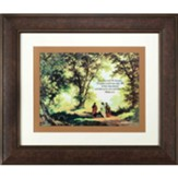 Then Jesus Told His Disciples, If Anyone Would Come After Me, Matthew 16:24, Framed Art