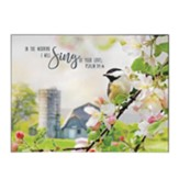 In the Morning I Will Sing of Your Love Wall Plaque