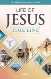 Life of Jesus Time Line: 75 Events in the Life of Christ - pamphlet, 5 pack