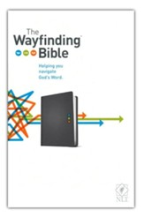 The NLT Wayfinding Bible, Slate LeatherLike