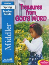 Treasures from God's Word Middler (Grades 3-4) Teacher's Guide (Spring 2019)