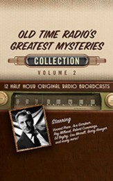 Old Time Radio's Greatest Mysteries, Collection 2 - 12 Half-Hour Radio Broadcasts (OTR) on CD