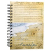 Large Spiral-bound Journal - Footprints
