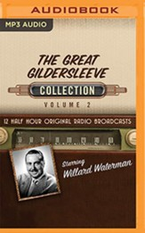 The Great Gildersleeve, Collection 2 - 12 Half-Hour Radio Broadcasts on Radio Broadcasts (OTR) on MP3-CD