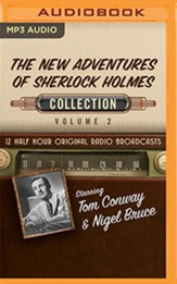 The New Adventures of Sherlock Holmes, Collection 2 - 12 Half-Hour Radio Broadcasts on Radio Broadcasts (OTR) on MP3-CD