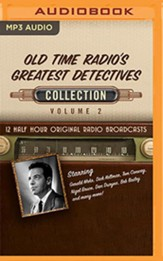 Old Time Radio's Greatest Detectives, Collection 2 - 12 Half-Hour Radio Broadcasts on Radio Broadcasts (OTR) on   MP3-CD
