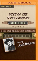 Tales of the Texas Rangers, Collection 2 - 12 Half-Hour Radio Broadcasts on Radio Broadcasts (OTR) on MP3-CD