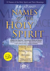 Names of the Holy Spirit: PowerPoint CD-ROM