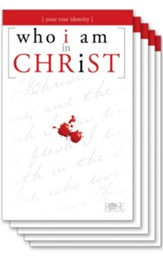 Who I Am in Christ Pamphlet - 5 Pack