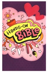 NLT Hands-On Bible Updated Edition, Leatherlike Sugar Plum