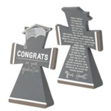 Congrats on Your Graduation Tabletop Cross