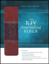 KJV Wide-Margin Personal Notes Bible, Imitation Leather, Tan/Brown