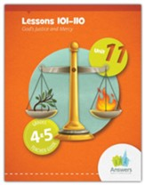 Answers Bible Curriculum Grades 4-5 Unit 11 Teacher Guide (2nd Edition)