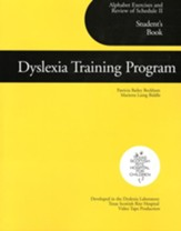 Dyslexia Training Program: Alphabet  Exercises and Review of Schedule 2: Student's Book