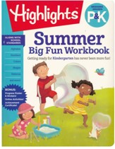 Summer Big Fun Workbook: Bridging Grades P & K