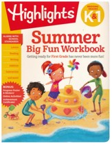 Summer Big Fun Workbook: Bridging  Grades K & 1