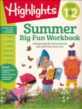 Summer Big Fun Workbook: Bridging Grades 1 & 2