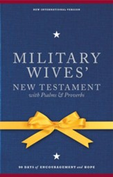 NIV Military Wives' New Testament with Psalms & Proverbs - eBook