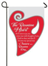 The Reunion Heart Flag, Small