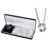 Lord's Prayer Ring Necklace
