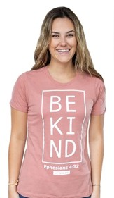 Be Kind Shirt, Women's Cut, Small