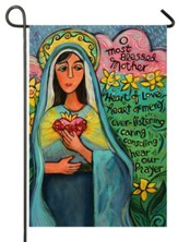 O Blessed Mother, Mary, Flag, Small