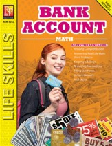 Bank Account Math (Grades 6 to 8)