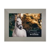 Beauty Comes From Within, Horse, Framed Art