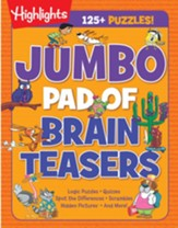 Jumbo Pad of Brain Teasers