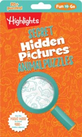 Secret Hidden Pictures ® Animal Puzzles