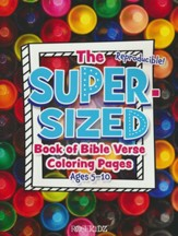 The Super-Sized Book of Bible Verse Coloring Pages