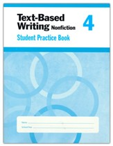 Text-Based Writing, Grade 4 Student  Workbook