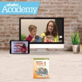 Abeka Academy Grade 1 Full Year  Video Enrollment (Accredited)