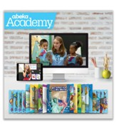 Abeka Academy Grade 1 Full Year  Video & Books  Instruction - Independent Study (Unaccredited)