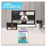 Abeka Academy Grade 5 Full Year  Video Instruction - Independent Study (Unaccredited)