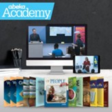 Abeka Academy Grade 7 Full Year  Video & Books Enrollment (Accredited)
