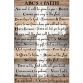 ABCs of Faith Wall Plaque